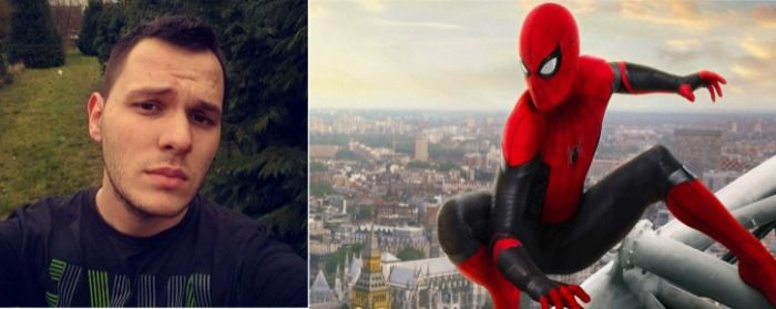 Bastien Hubert reported to be in Spider-Man No Way Home