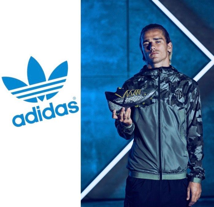 Antoine Griezmann nouvelle égérie d'Adidas